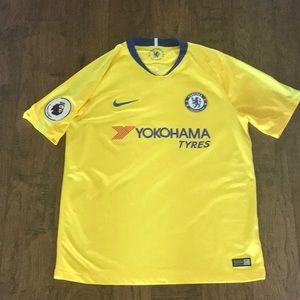 Nike Chelsea away yellow 2018/2019 soccer jersey